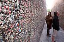 That night we stopped in downtown San Luis Obispo, where we got ice cream and encountered... Bubble Gum Alley.