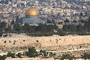 View of Temple Mount from Mt. of Olives.