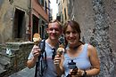 The hiking was hothothot! Not much of a breeze and stifling humidity, but some gelato in Corniglia (the third village) refreshed us.