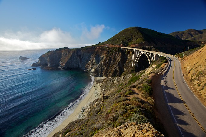 And the famous Bixby Bridge.