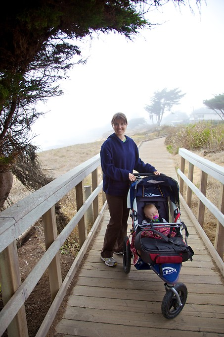 Another great boardwalk in Cambria, along Moonstone Beach where we were staying.