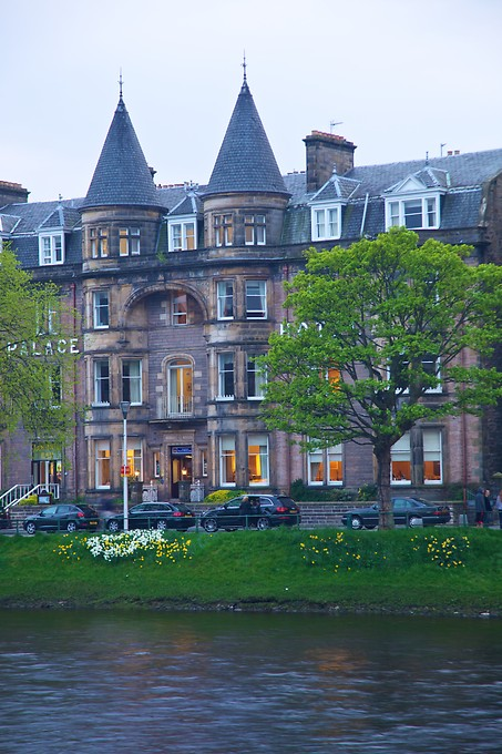 A lovely old hotel in Inverness.