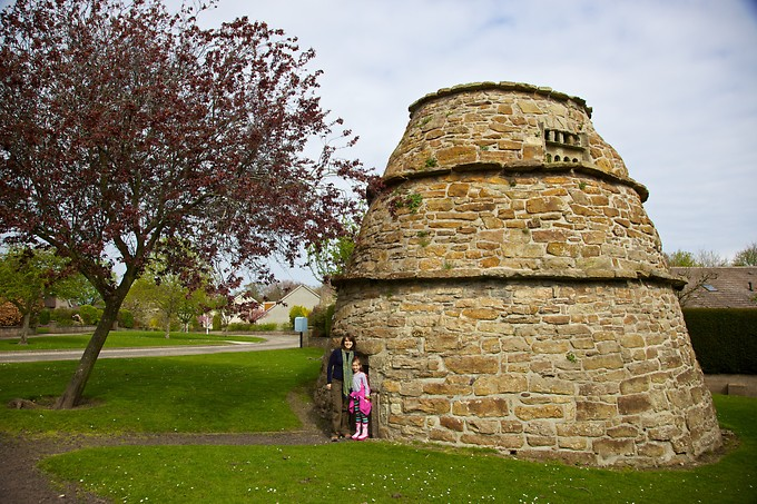 An old dove cote (or Doocot), where they used to house doves.