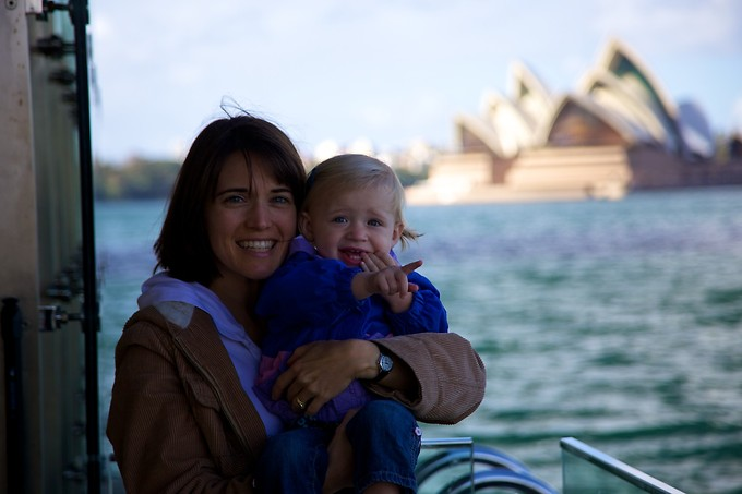 We spent another day at Manly Beach. This is on the ferry to Circular Quay.